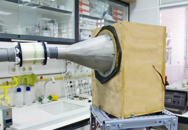 Método para potenciar la captura de CO2 con ondas sonoras