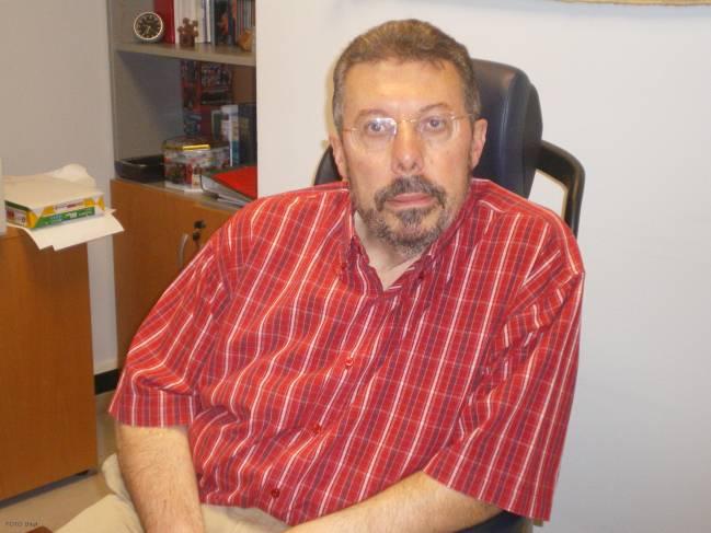 El director del Laboratorio de Teledetección, José Luis Casanova.