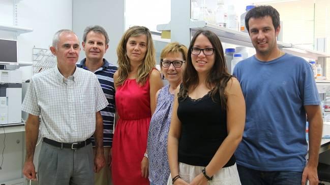 Investigadores del Grupo de Reactividad Molecular y Diseño de Fármacos de la UIB.