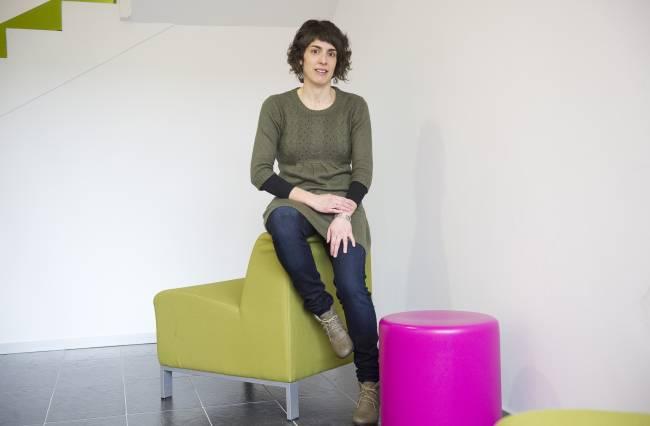Aduna Badiola Lecue, doctora en Ciencias de la Actividad Física y del Deporte (UPV/EHU) y autora del estudio.