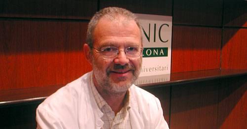 El Dr. Antonio Gual, Jefe de la Unidad