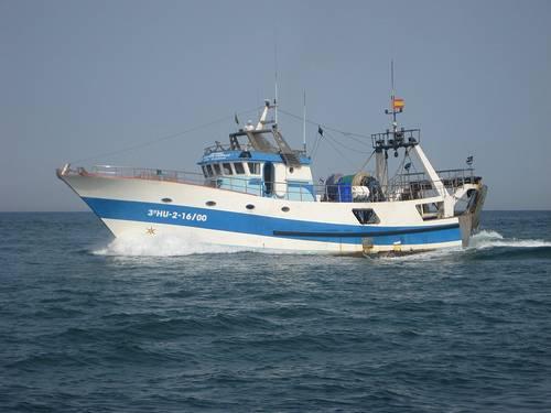 Barco pesquero en Punta del Moral. Foto: Jorge L.