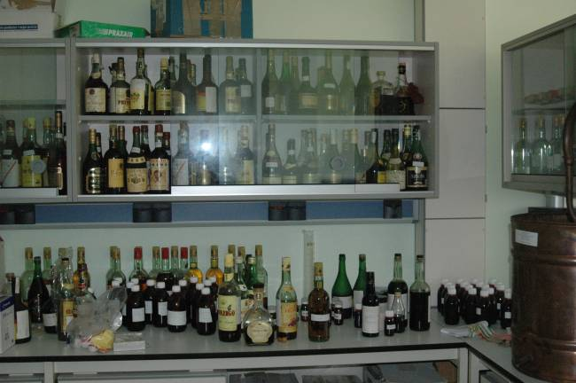 Laboratorio para el estudio del brandy en la UCA