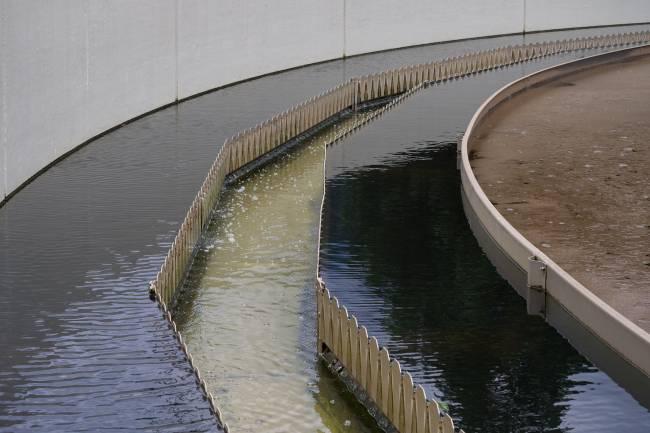 Planta de aguas residuales