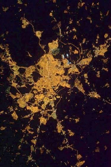 Imagen de Madrid de noche