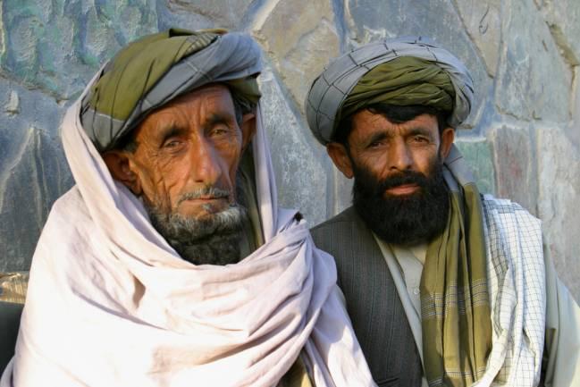 Hombres de la etnia Pashtun. Imagen:  Keith Stanski