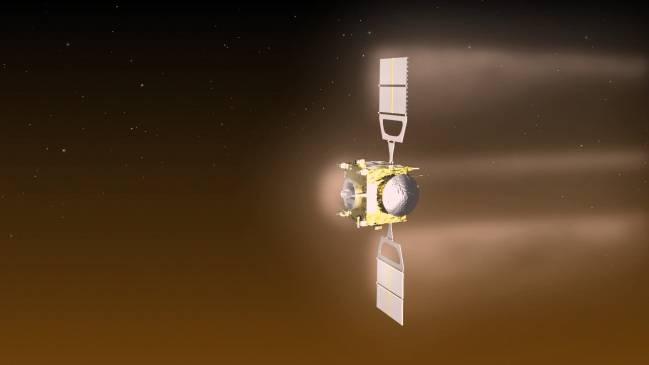 Venus Express aerofrenado