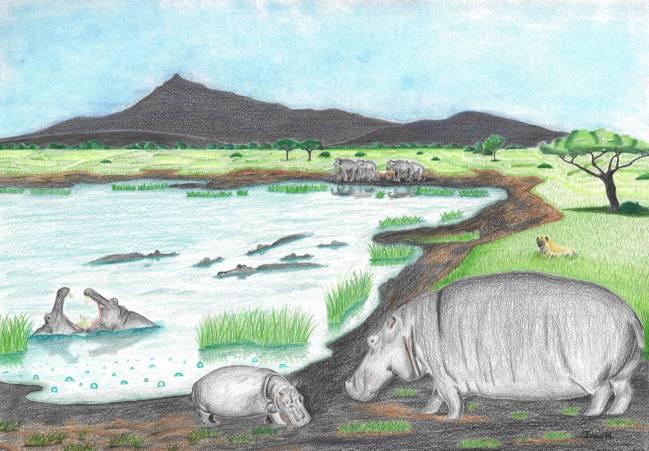 Reconstrucción paisajística del lago de la Hoya de Baza