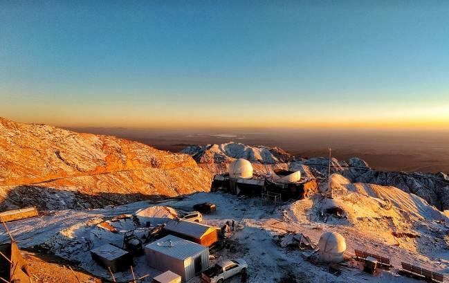 El observatorio de Lenghu, en la Meseta del Tíbet
