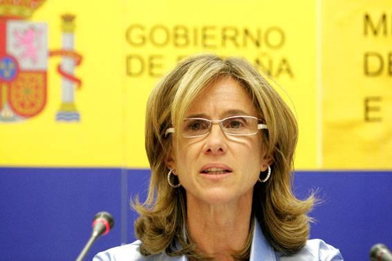 Cristina Garmendia, ministra de Ciencia e Innovación. Foto: SINC.