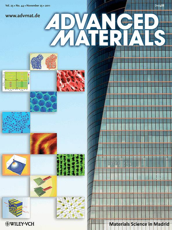 Portada del especial de Advanced Materials
