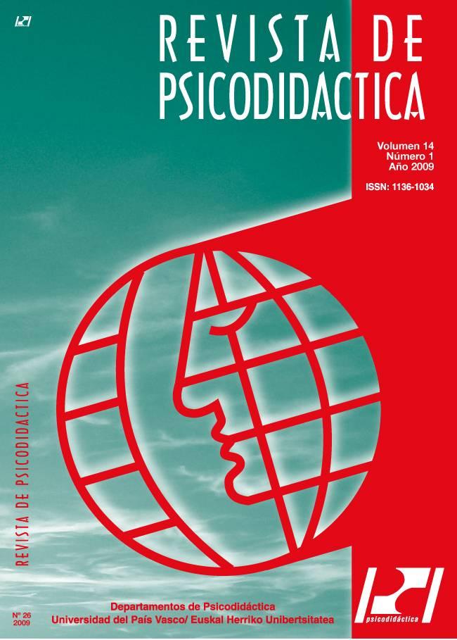 Portada de la 'Revista de Psicodidáctica'
