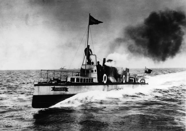El Turbinia, primer barco propulsado con turbinas a vapor. / Wikipedia