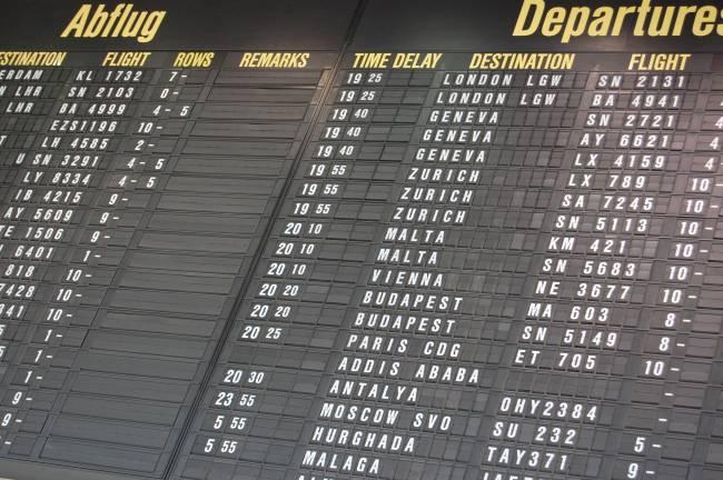 Los retrasos aéreos tienen un gran coste tanto para las compañías como para los viajeros. / Juliane Brandt.