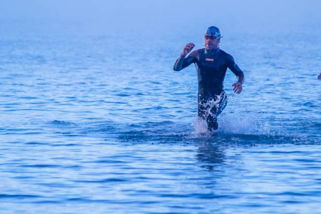 La prueba ½ Ironman es una carrera de triatlón de media distancia, que consta de 1,9 km de natación, 90 km de ciclismo y 21,1 km de atletismo. / Chad Johnson