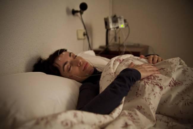Prueba de apnea del sueño. Imagen: SINC