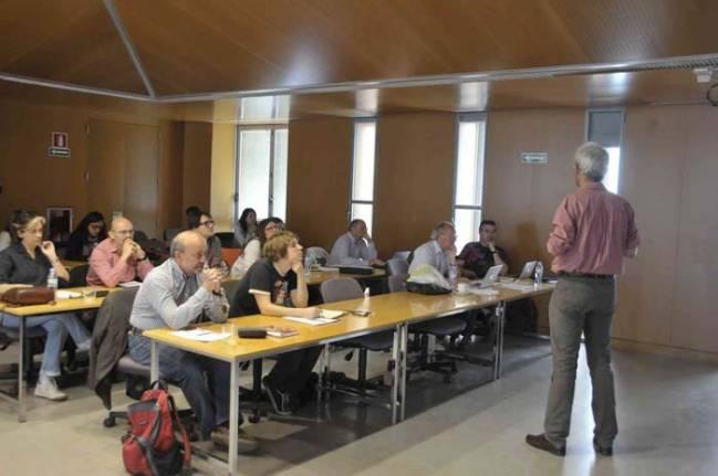 Una de las sesiones del workshop