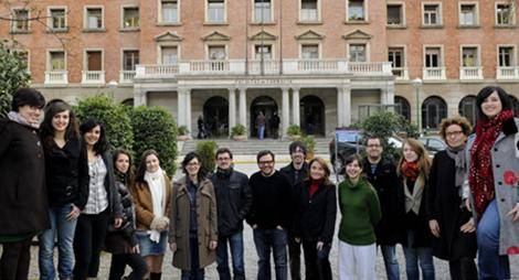 Una imagen del Grupo de Investigación de Metabolómica Nutricional y de los Alimentos de la Universidad de Barcelona.