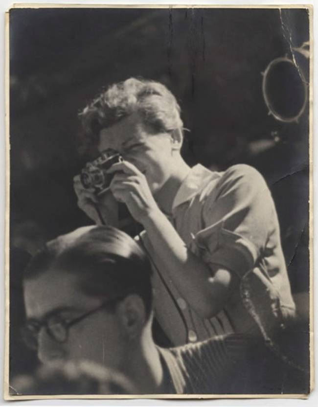 Unidentified Photographer [Gerda Taro, Guadalajara Front], July 1937 ©International Center of Photography