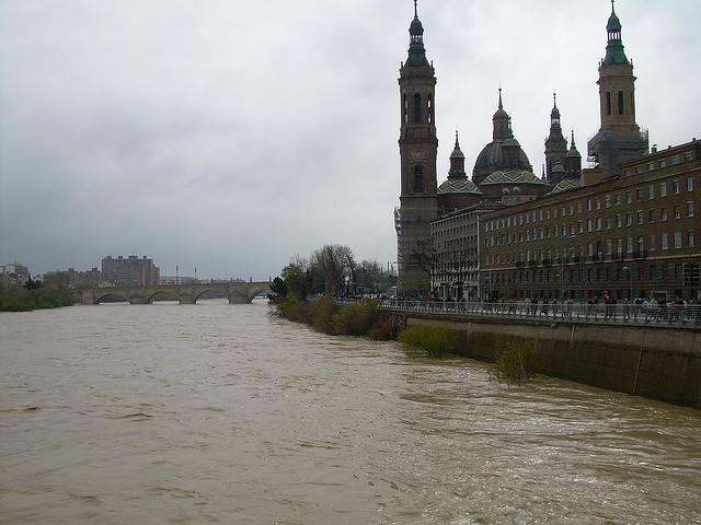 inundación Ebro