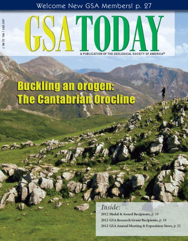 El artículo recoge las investigaciones del geólogo Gabriel Gutiérrez Alonso sobre formación de cadenas montañosas en el pasado, en colaboración con científicos de Estados Unidos y Canadá