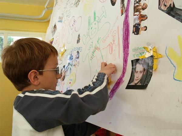 Alumno de un taller escolar. Foto: Sécolectivoforzoso.