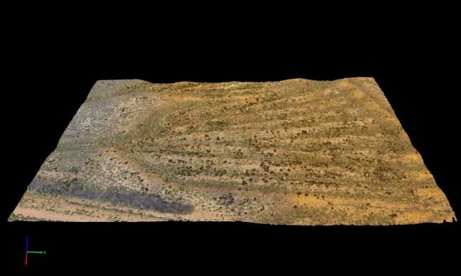 La combinación de tecnología láser aerotransportada e imágenes de drones ofrece novedosa información sobre el valle del Eria (León)