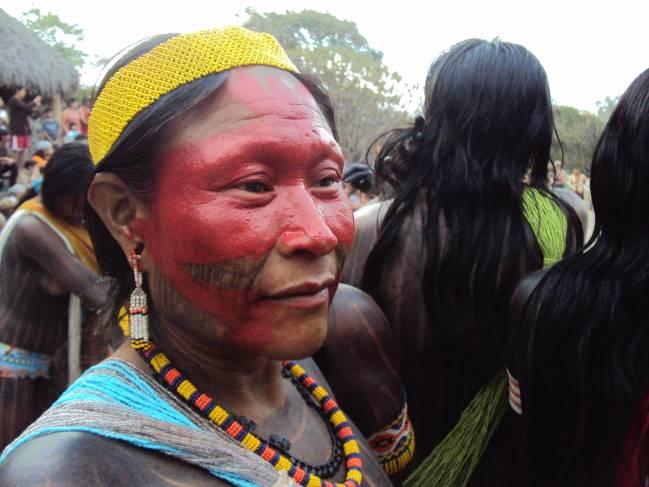 Indígena Kayapó