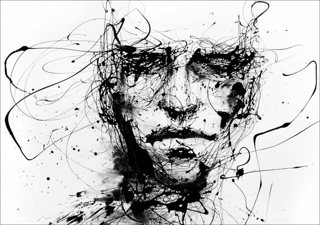"""Lines hold the memories"" (Agnes Cecile)"