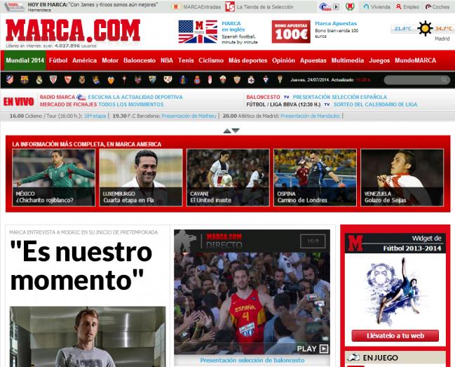 Ningún estudio había analizado en profundidad cómo son las webs de los diarios deportivos españoles / UNIR.