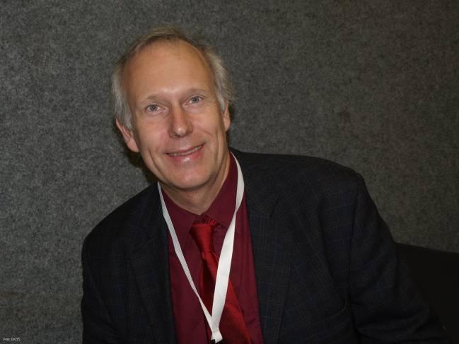 Peter Lindblad, investigador de la Universidad de Uppsala (Suecia).