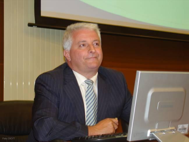 José Manuel Báez Cristóbal, jefe de Servicios de Apoyo a la I+D+i de la Fundación Española para la Ciencia y la Tecnología (Fecyt).