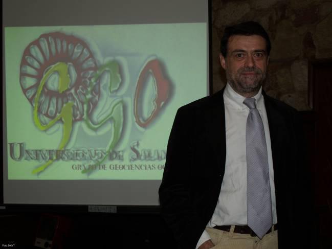 José Abel Flores, miembro del Grupo de Geociencias Oceánicas de la Universidad de Salamanca