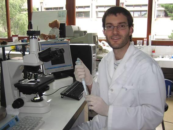 El biólogo Ekaitz Agirregoitia.