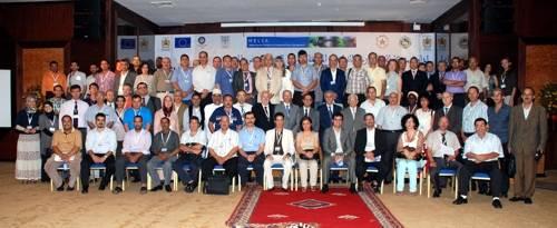 Grupo de participantes en la conferencia del MELIA en Agadir (Marruecos)