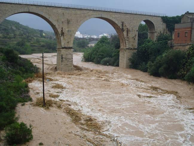 LLuvias torrenciales en la provincia de Alicante. Imagen: DeFerrol