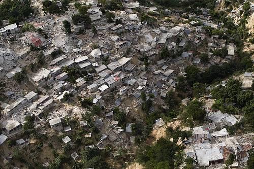 Vista aérea tras el terremoto de Haití. / ONU