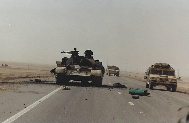 Militares en Irak