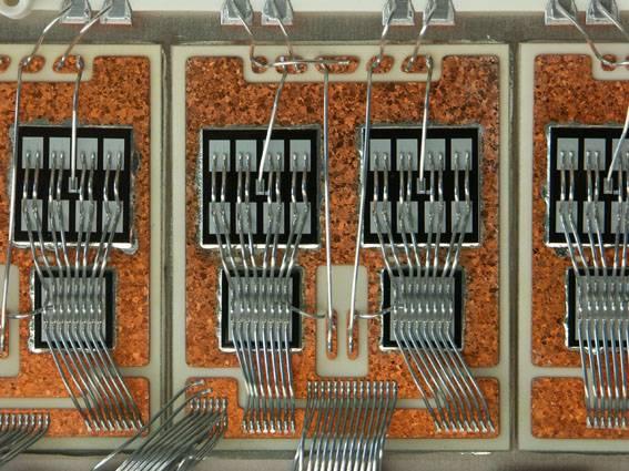 Módulo electrónico IGBT. Foto: Extremat.