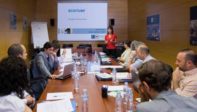Reunión de lanzamiento del proyecto ECOTURF