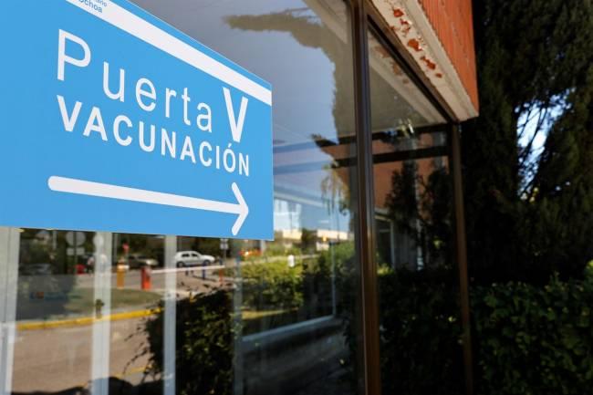 Puerta vacunación Severo Ochoa