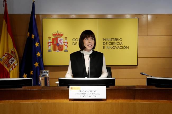 Diana Morant ministra de Ciencia e Innovación