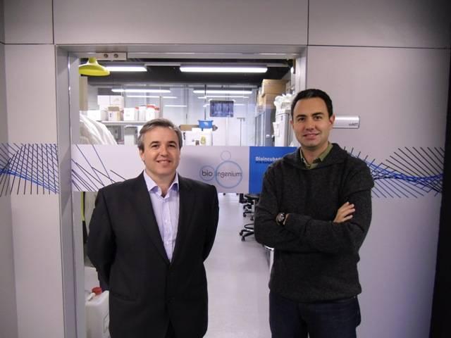 Ramon Ramon, director general de Bioingenium y David Resina, director de I+D