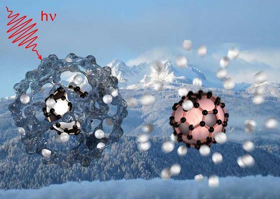 Un experimento con nanogotas de helio confirma la existencia de fullerenos cargados en el espacio interestelar