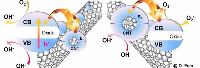 Híbridos nanocarbono/inorgánico