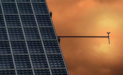 Placas solares. Foto:Héctor Castañón.