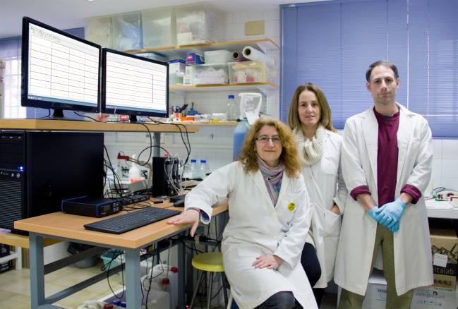 Grupo de investigación Traducción Local Sináptica en el laboratorio de la Facultad de Medicina de la US
