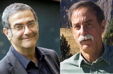 Serge Haroche (izquierda) y David J. Wineland, galardonados con el Nobel de Física. Imagen: Efe/SINC