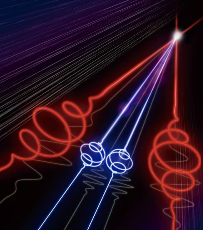 Logran generar y medir por primera vez un pulso láser de attosegundo (la trillonésima parte de un segundo) aislado y con polarización circular