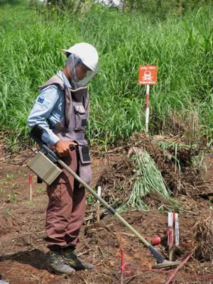Detección de minas